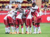 Le groupe de l'AS Monaco pour Metz