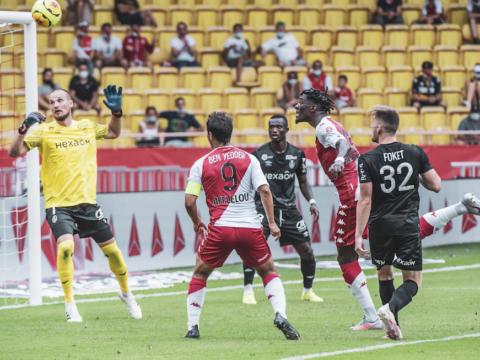 O Monaco mostra personalidade diante do Reims