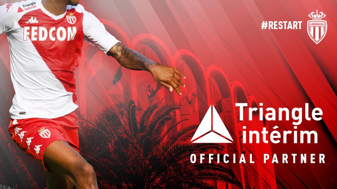 AS Monaco y Triangle Intérim extienden su vínculo