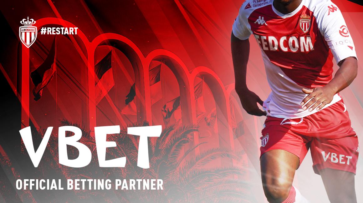 L'AS Monaco et VBET deviennent partenaires