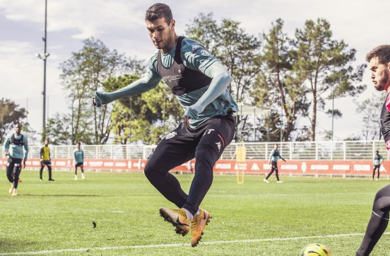 Primeiro treino para Florentino Luis