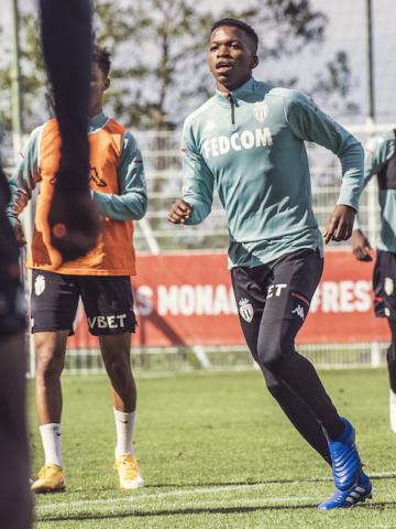 Premier entraînement pour Florentino Luis