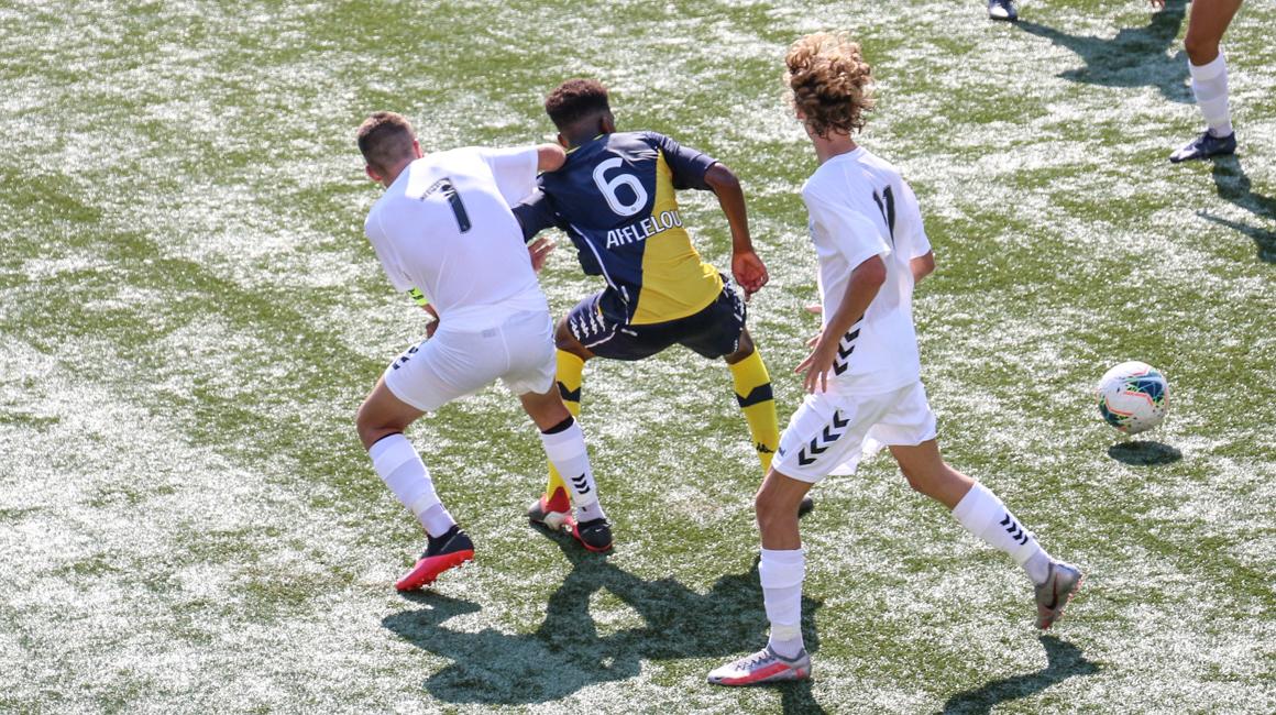 Highlights U17-J1 : AS Monaco 5-0 GFC Ajaccio