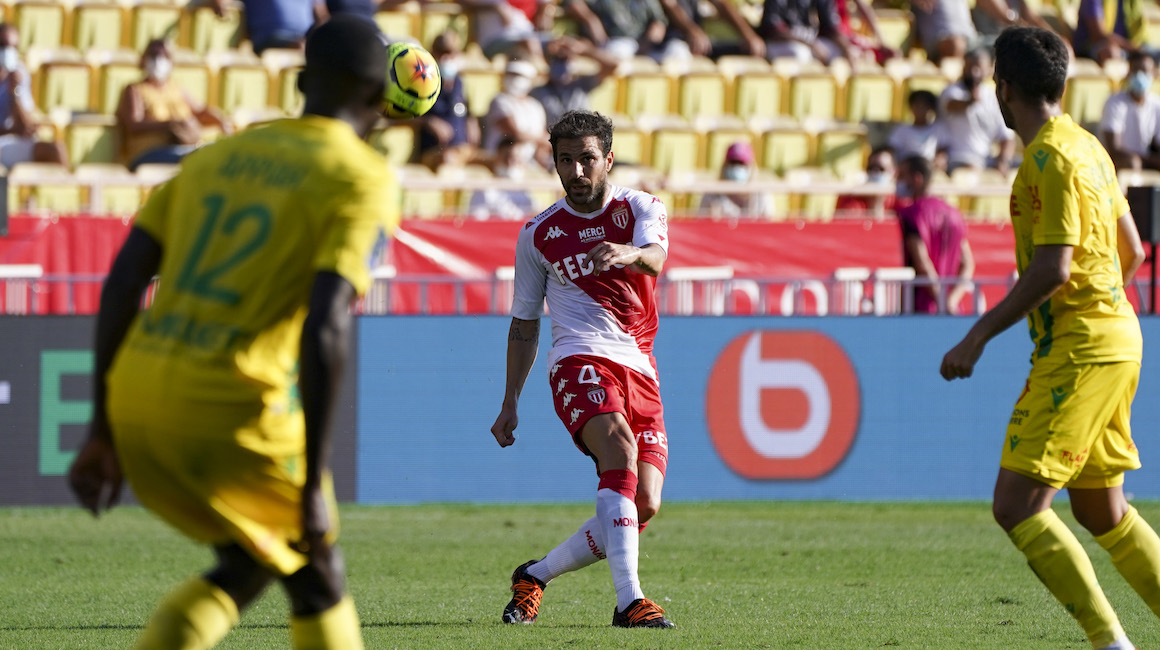 Cesc Fàbregas, el MVP del partido ante Nantes