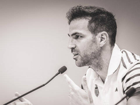 "Cesc Fàbregas: ""The best position for me now"""