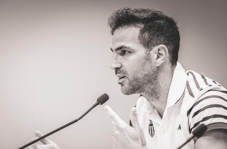 """Fabregas: """"Estoy en la mejor posición que puedo jugar"""""""