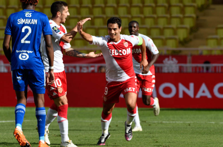 Wissam Ben Yedder, el MVP IQONIQ de Monaco vs. Strasbourg