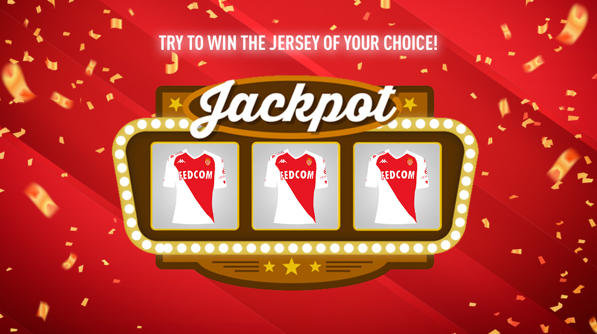 "A ""Jackpot"" to win the jersey of your choice"