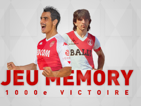 Jeu Memory sur la 1000e victoire