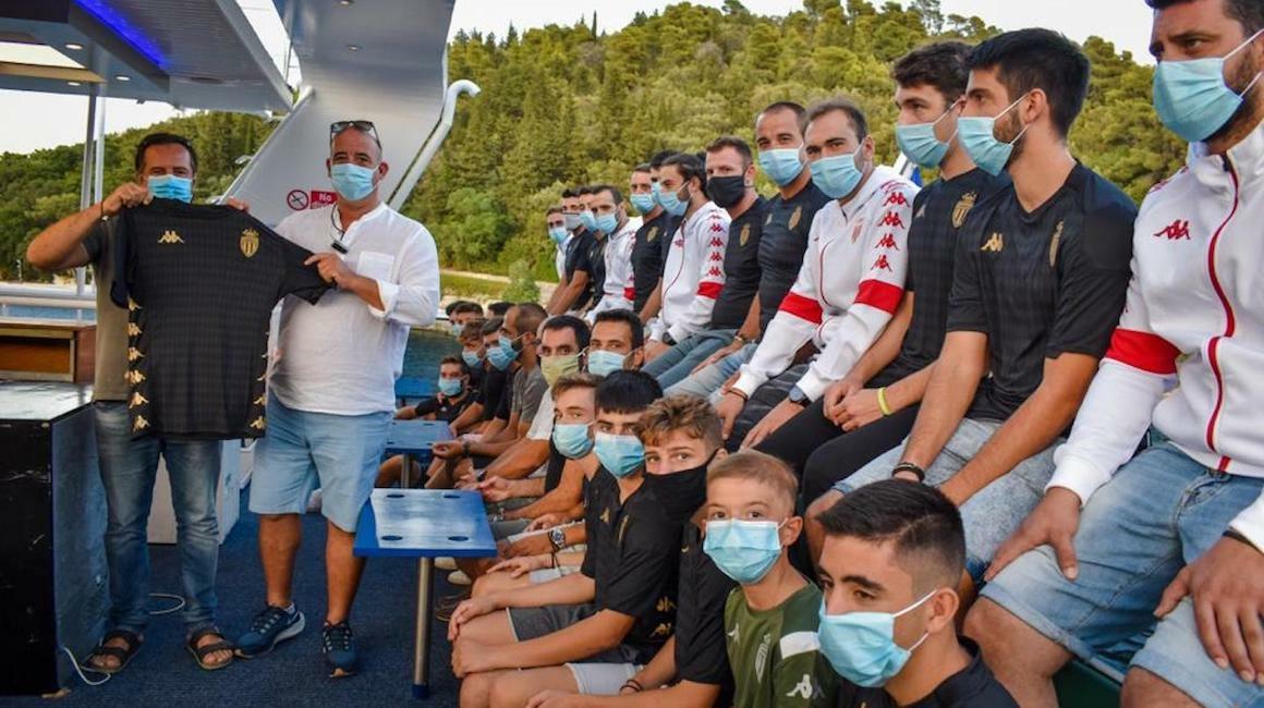 Le Président Dmitry Rybolovlev au soutien du club grec de Lefkada