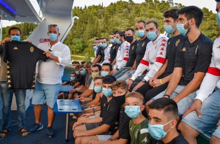 Президент Дмитрий Рыболовлев поддержал греческий клуб с острова Лефкас