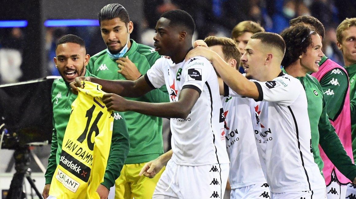 Anthony Musaba buteur dans le derby avec le Cercle
