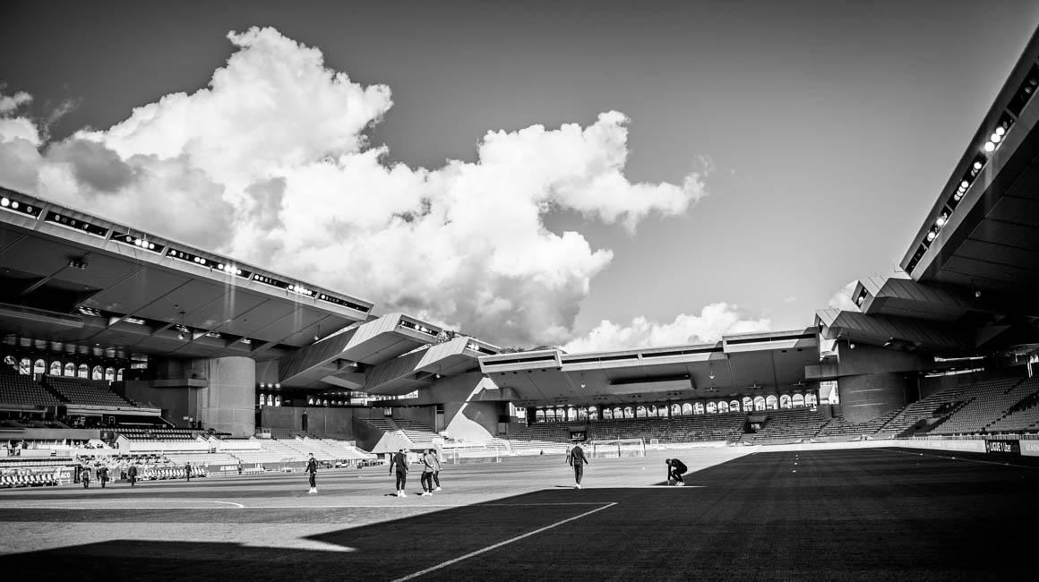 Un hommage à Guillaume Dathueyt avant AS Monaco - OM