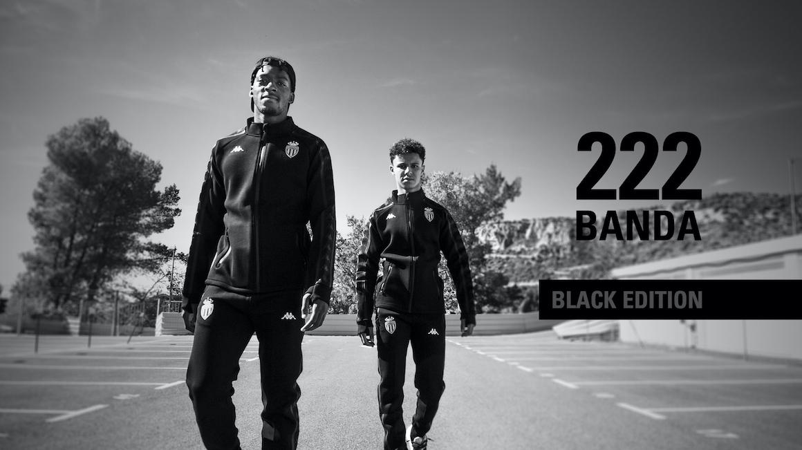 Offrez-vous le nouveau survêtement Banda 222 - Black Edition