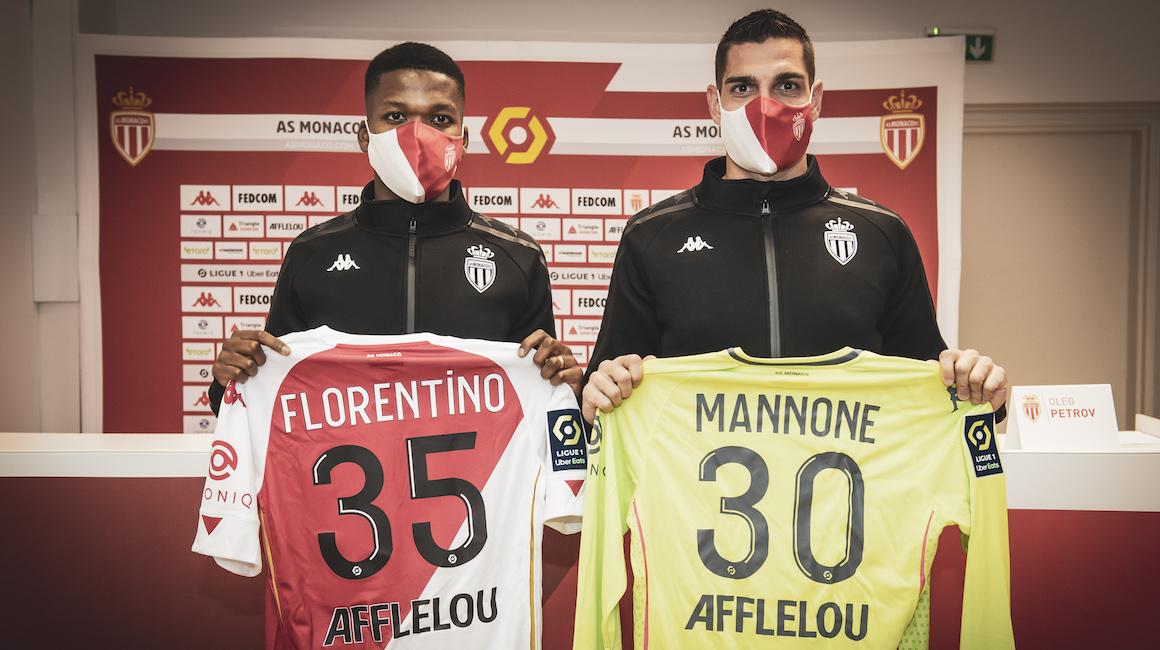 Apresentação de Florentino Luis e Vito Mannone