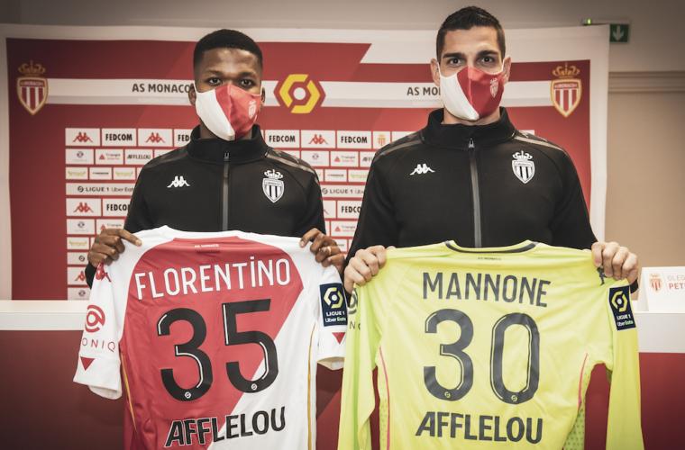 Presenting Florentino Luis and Vito Mannone