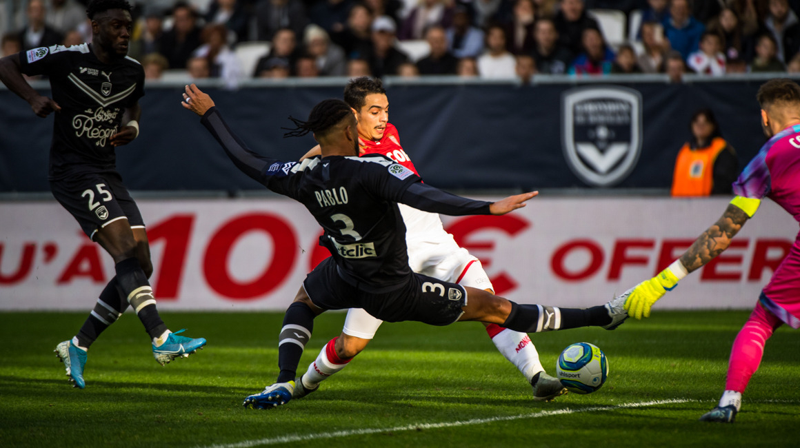 AS Monaco - Bordeaux le dimanche 1er novembre à 17h