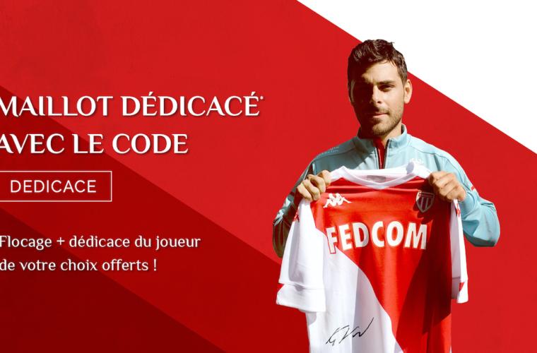 Achetez votre maillot dédicacé de l'AS Monaco