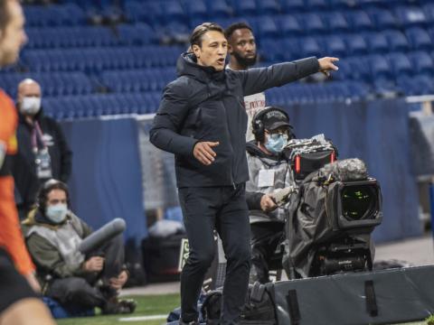 Niko Kovac y Caio Henrique hablaron tras caer ante Lyon
