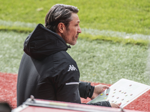 Niko Kovac and Ruben Aguilar's reactions after facing Brest