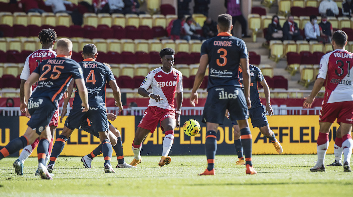 Monaco no pudo quebrar la defensa del Montpellier