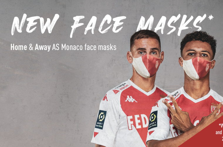 AS Monaco announce new Home and Away masks