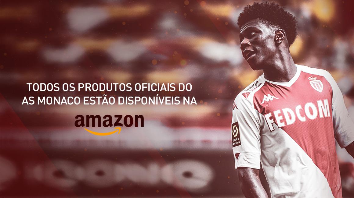 Lançamento da loja AS Monaco na Amazon