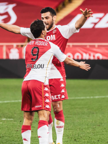 Лига 1: «Монако» 3-0 «Ним»
