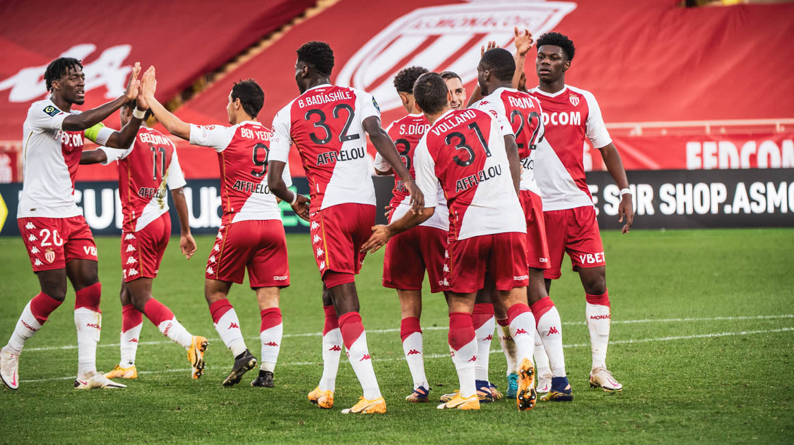 A quarta vitória consecutiva para o AS Monaco