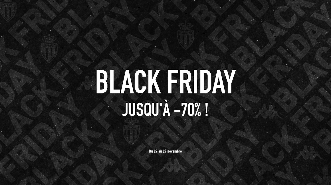 L'AS Monaco lance son Black Friday !