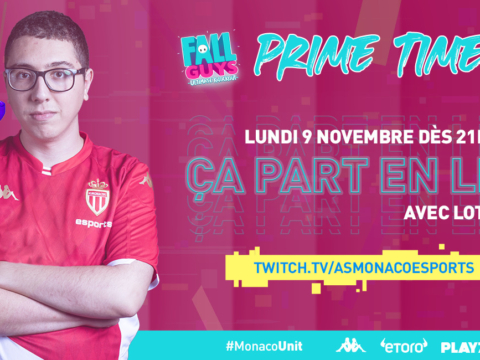 "Lotfi & co en live ""Prime Time"" Fall Guys sur Twitch"