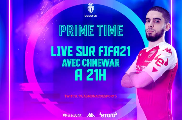 """ChnewaR en live sur FIFA pour """"Prime Time"""""""
