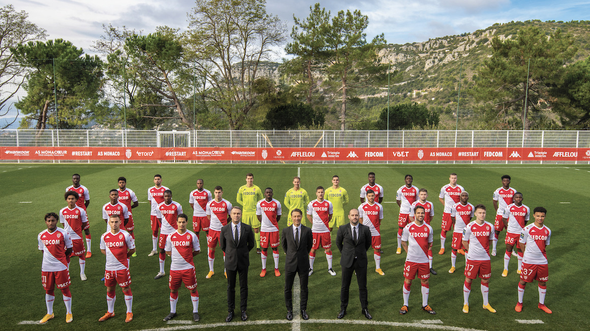 L'AS Monaco présente la photo officielle 2020-2021