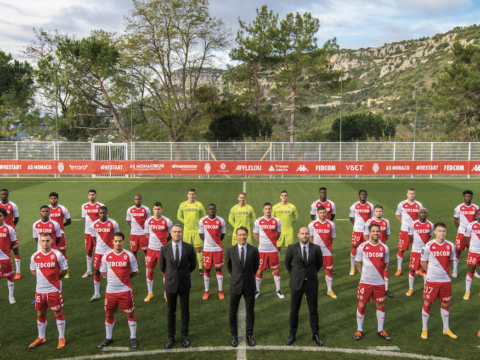 AS Monaco presents the official 2020-2021 photo