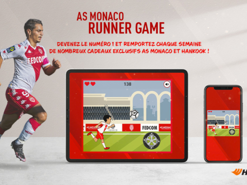 Jouez à l'AS Monaco Runner Game