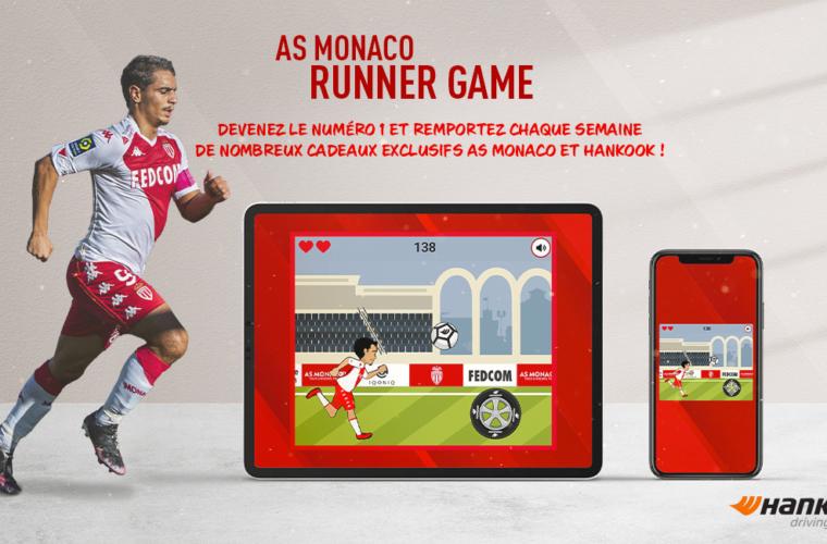 Jouez à l'AS Monaco Runner Game