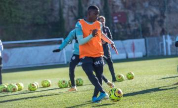 Retour à l'entraînement à J-2 avant Saint-Etienne