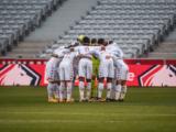 Le groupe de l'AS Monaco face à Lorient