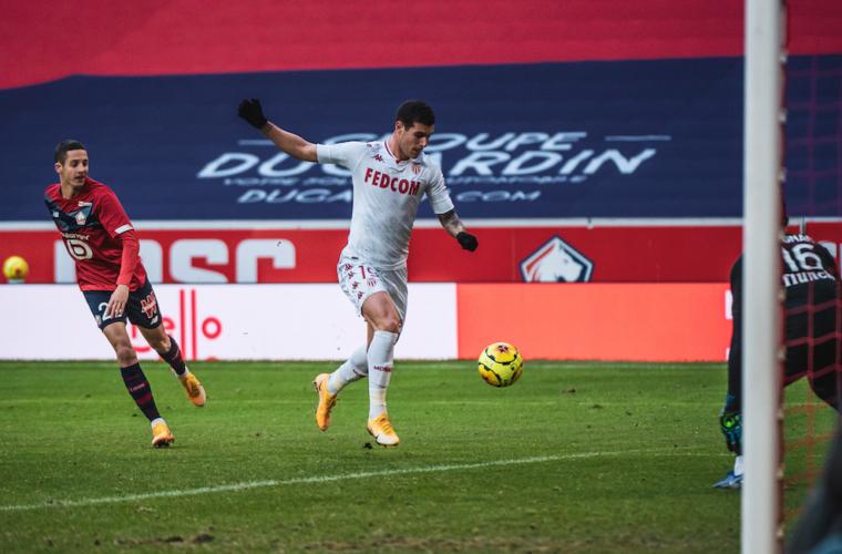 Pietro Pellegri MVP by IQONIQ contra o Lille