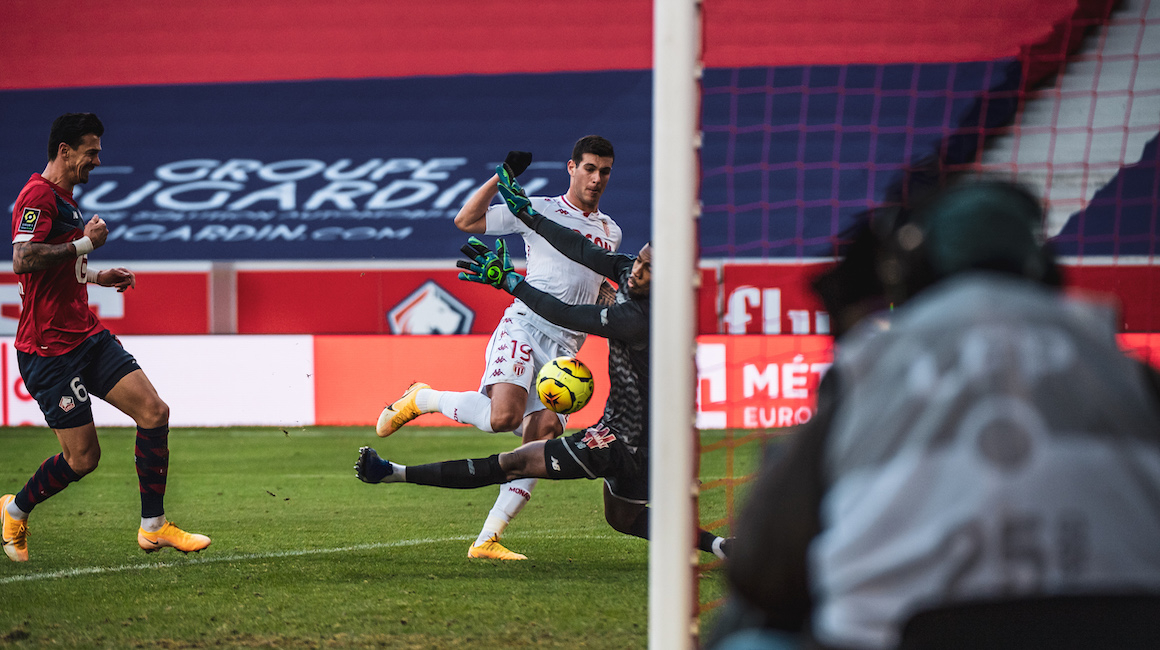 """Pietro Pellegri: """"Very happy to have scored this goal against Lille"""""""