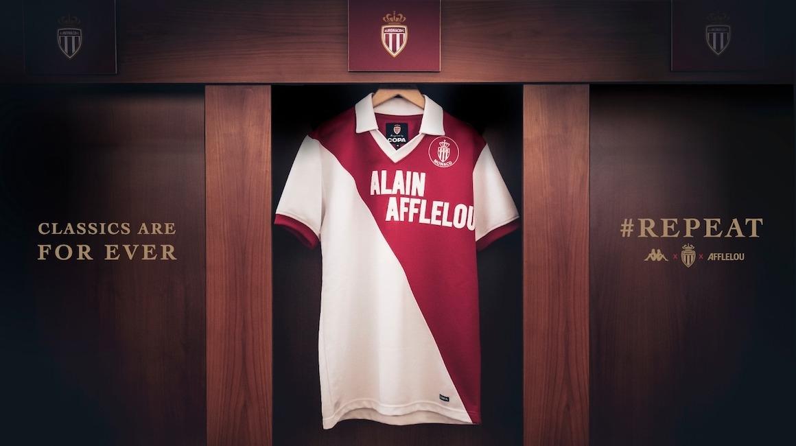 Un maillot historique de l'AS Monaco en édition limitée