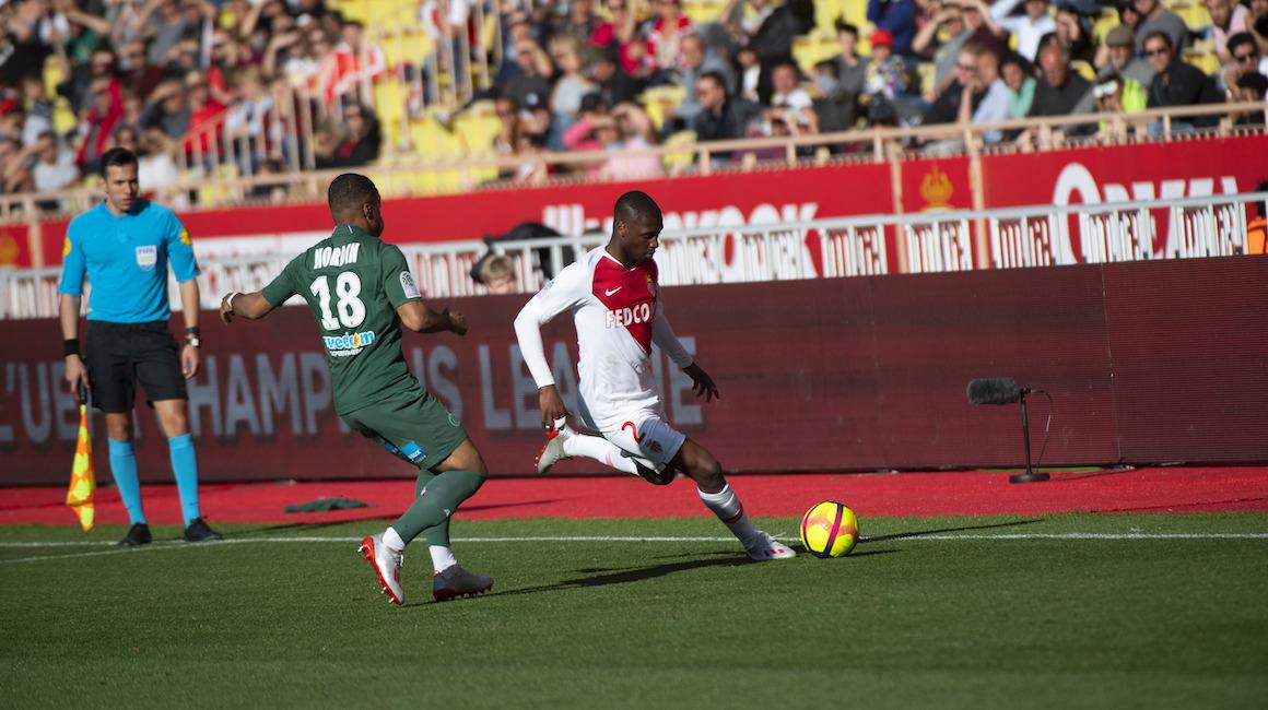 Concentrados en el AS Saint Étienne
