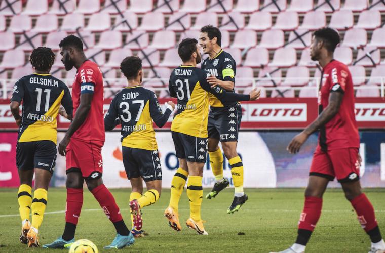 El AS Monaco derrotó a Dijon y recuperó la sonrisa
