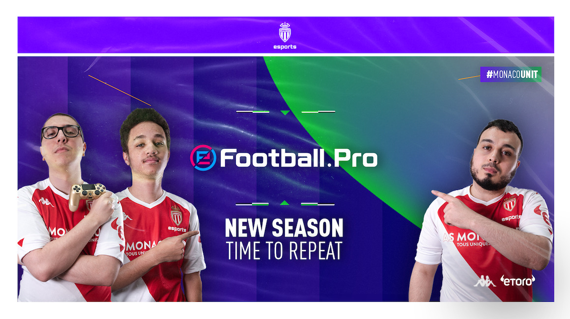AS Monaco Esports gears up for the return of eFootball.Pro