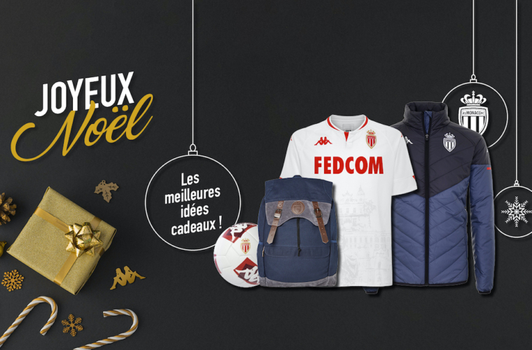 AS Monaco has some gift ideas for your Christmas shopping!
