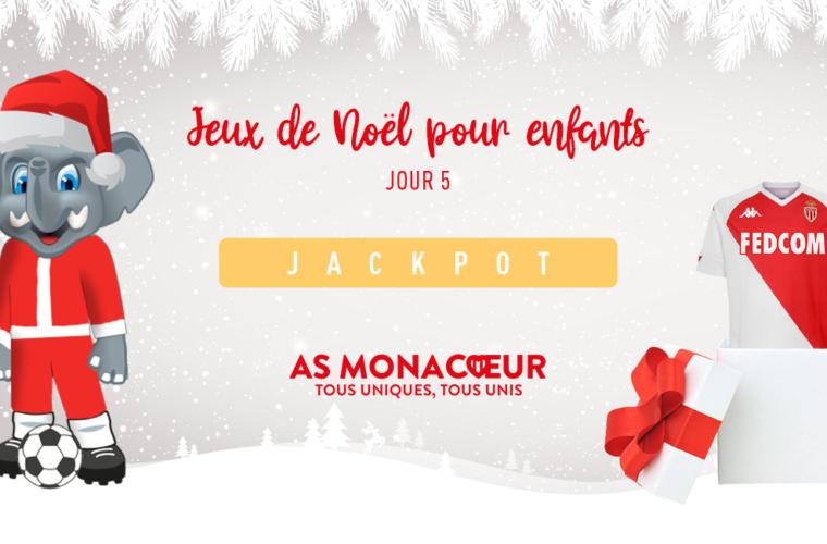 Participez au jeu de Noël AS Monacoeur spécial kids