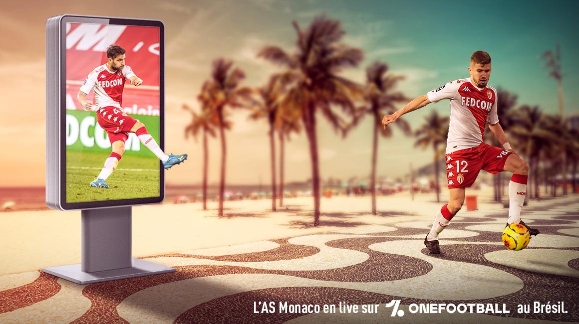 Les matchs de l'AS Monaco à retrouver au Brésil sur OneFootball