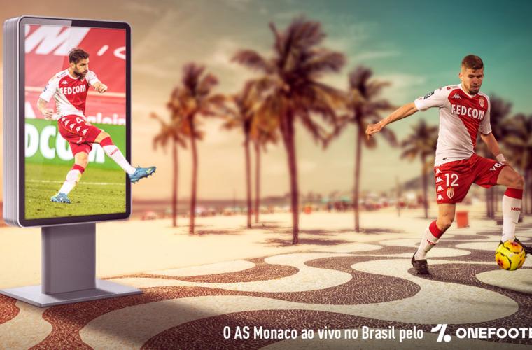 Os jogos do AS Monaco no Brasil pelo OneFootball