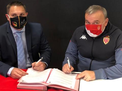 L'AS Monaco renouvelle son partenariat avec l'AS Aix-en-Provence