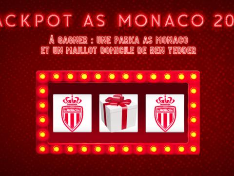 Tentez votre chance au jackpot de l'AS Monaco 2021